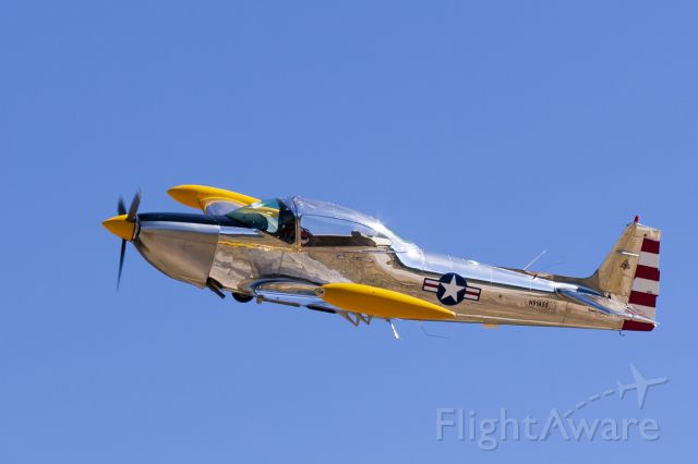 North American Navion (N91455) - Taken in Big Bear, California right at the base of runway 8.