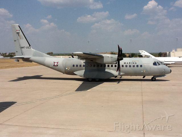 Casa C-295 Persuader (AMT253) - At custom ramp.  Mexico