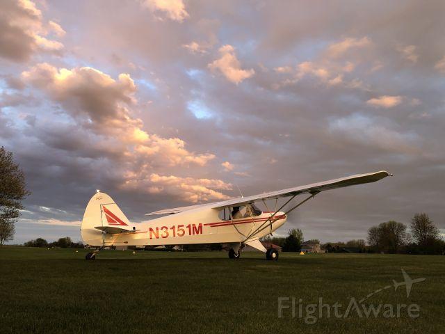 Piper PA-12 Super Cruiser (N3151M)
