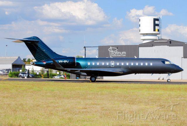 Bombardier Global Express (VH-SPJ)