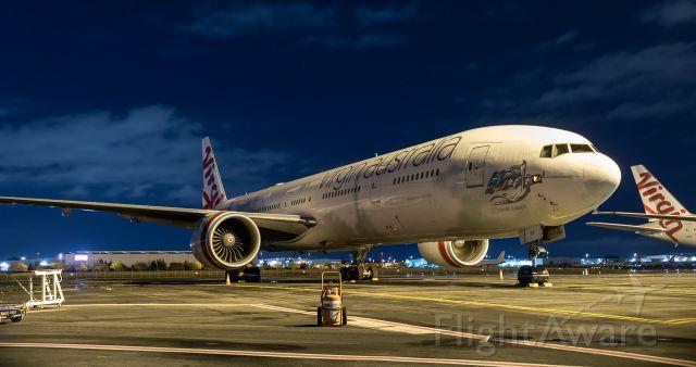 """BOEING 777-300 (VH-VPF) -  Virgin Australia B773 """"Caves Beach"""""""