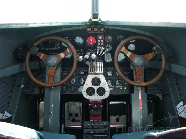 N8419 — - Ford Tri-Motor Cockpit