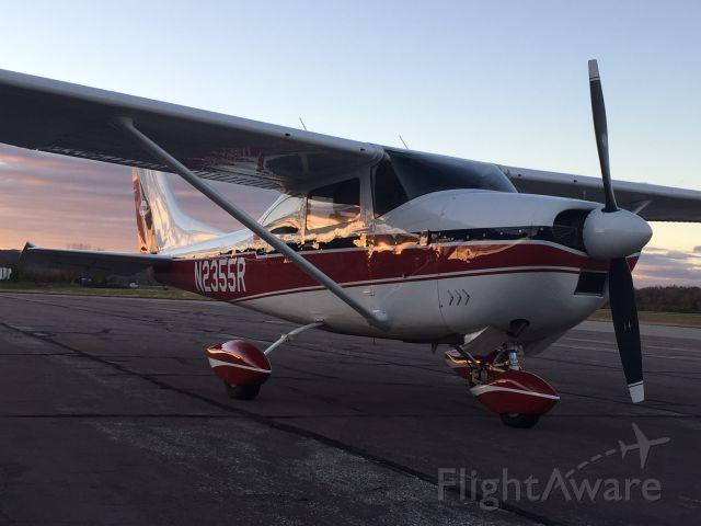 Cessna Skylane (N2355R) - Upper Mississippi Valley sunset