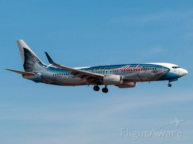 Boeing 737-800 (N559AS) - 1/12/2020