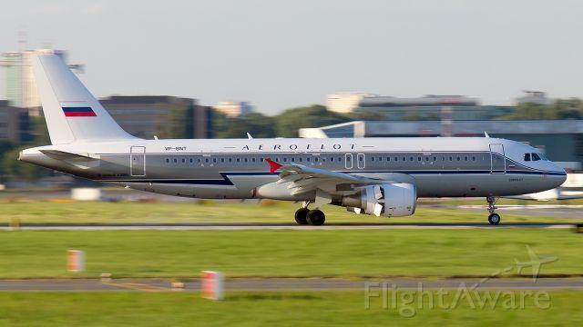 Airbus A320 (VP-BNT) - Aeroflot (Retro Livery)