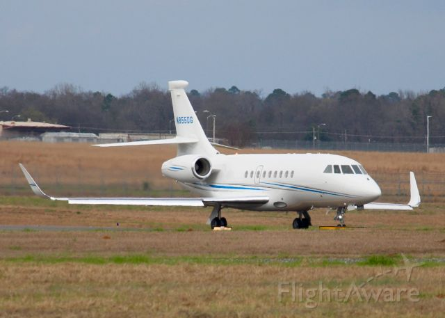 Dassault Falcon 2000 (N855DG) - At Shreveport Regional. 2006 Dassault FALCON 2000EX