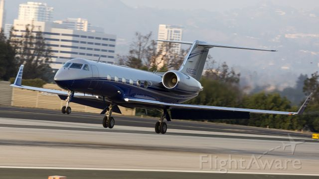 Gulfstream Aerospace Gulfstream IV (N869DL) - Taken from the Santa Monica Airport Observation Deck