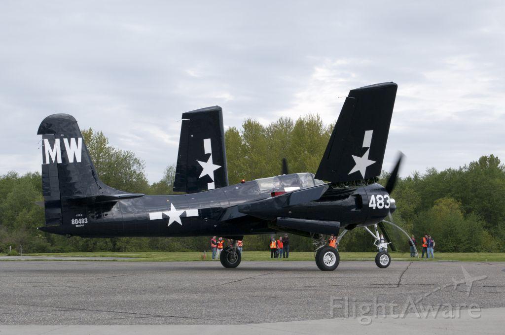 N6178C — - Tigercat taxiing and unfolding wings.