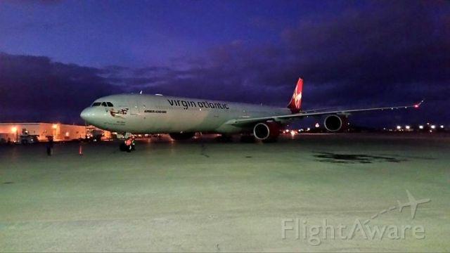 Airbus A340-600 (G-VBLU) - c a marino