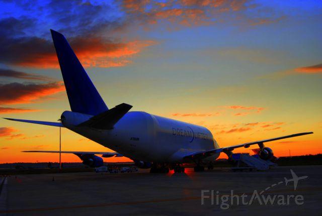 Boeing 747-400 (N780BA) - wke up in the morning....for a long long day   LIBG-KCHS