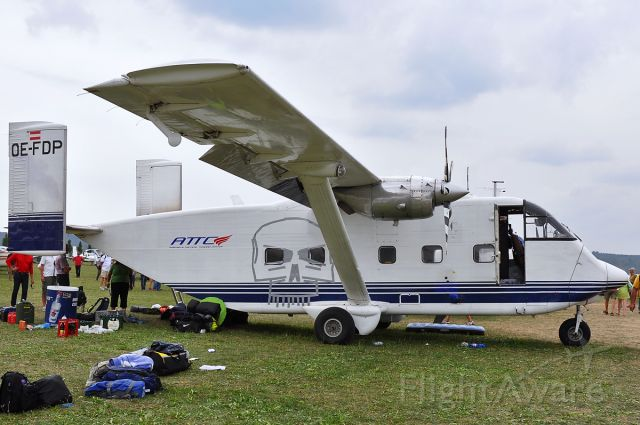 Short Skyvan (OE-FDP)