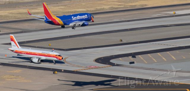 Boeing 737-700 (N7835A) - Although the visual angle of this shot might make it seem that Southwest