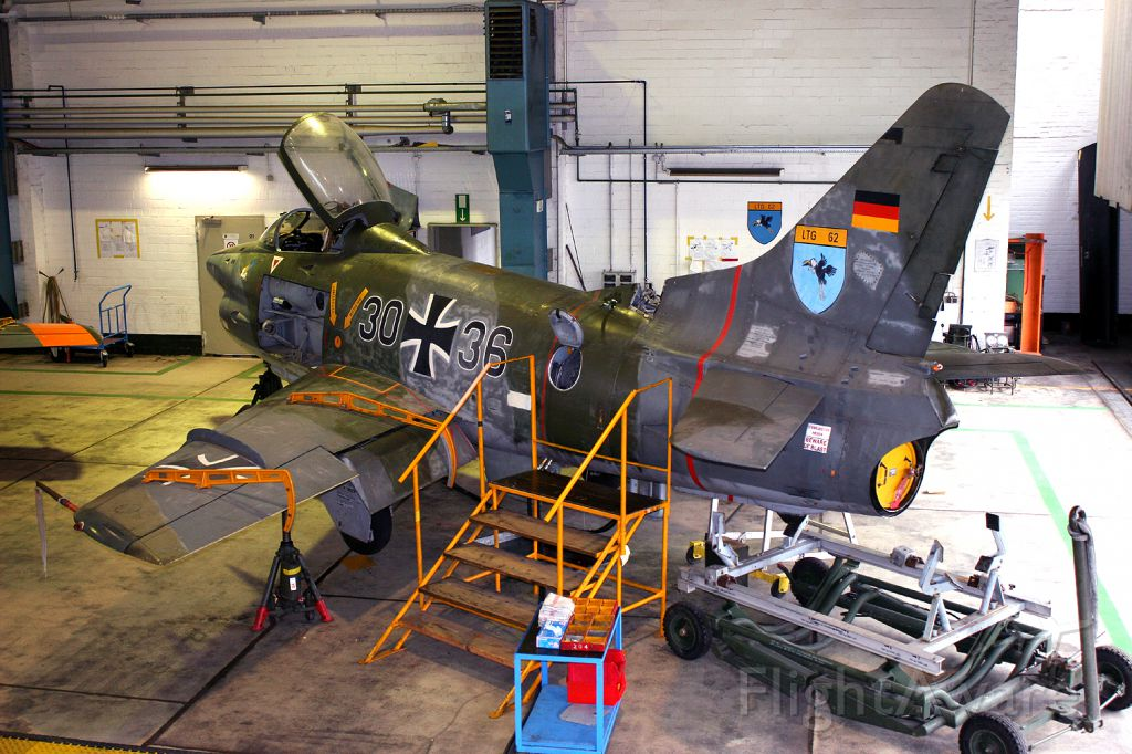 N3036 — - Fiat G-91R/3 3036 is used as an instructional airframe at Wunstorf AB