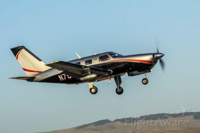 Piper Malibu Mirage (N795A) - Mirage Departing