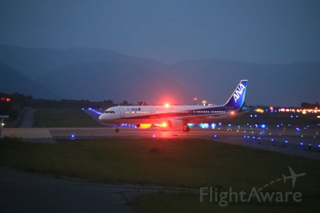 Airbus A321 (JA113A) - August 7th 2018:HN-HKD.