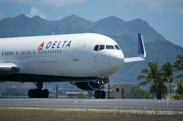 BOEING 767-300 — - Delta 767-300 heading out of Honolulu for LAX.