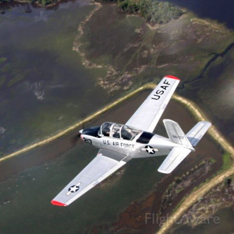 Beechcraft Mentor (N34LF) - Checking out the Lowcountry