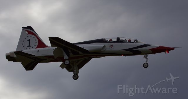 """Northrop T-38 Talon (N385AF) - Privately owned T-38 """"The Spirit of Alliance"""" arrives back home for the Alliance Airshow 10/10/2018 (Please view in """"full"""" for highest image quality)"""