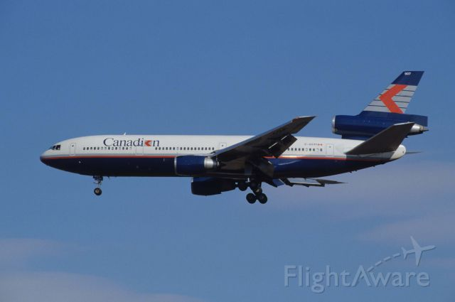 McDonnell Douglas DC-10 (C-GCPI) - Final Approach to Narita Intl Airport Rwy34 on 1991/01/21