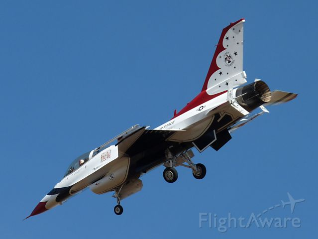 Lockheed F-16 Fighting Falcon (TBIRD5) - Mar. 21, 2009