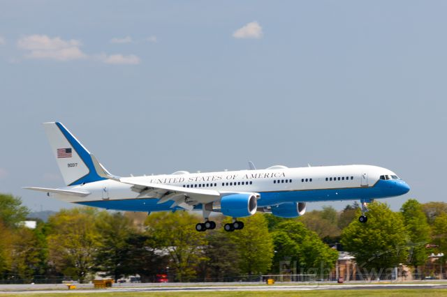 N90017 — - Air Force One landing at KABE on 14 May, 2020
