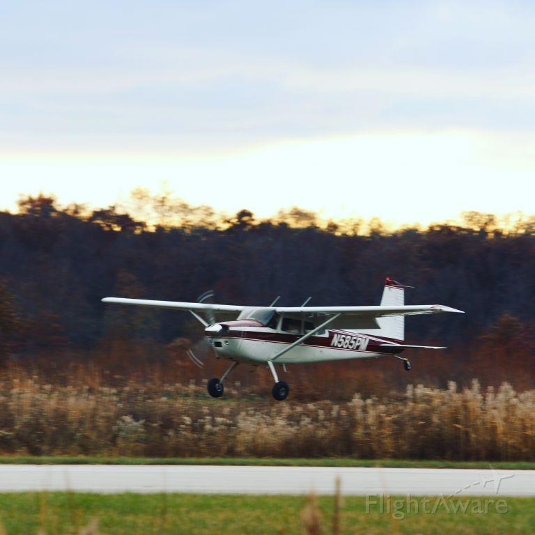 Cessna Skywagon (N585PM) - Wheel landing