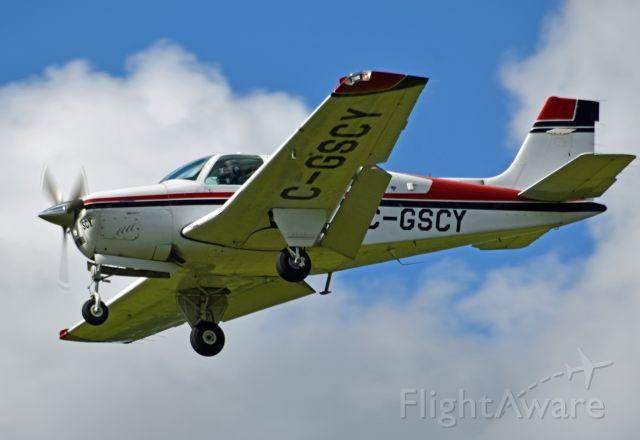 Beechcraft Bonanza (36) (C-GSCY) - 1992 Beechcraft Bonanza F33A (C-GSCY/CE-1708) arriving from Toronto/Buttonville Municipal Airport (CYKZ) on June 22, 2021