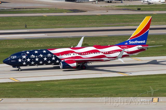 Boeing 737-800 (N500WR) - Freedom One