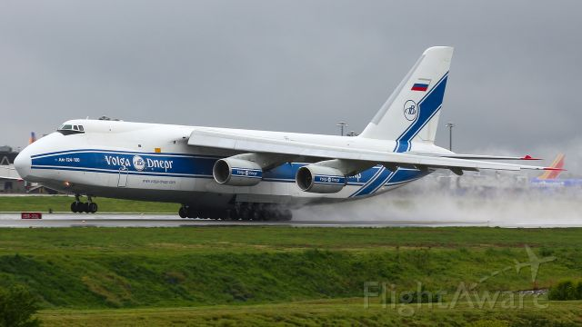Antonov An-124 Ruslan (RA-82046) - Taken in the spring of last year, this beastly Antonov-124 rotates off of runway 28 bound for Anchorage. When I still lived there, AN124s would come to BWI usually once every couple of weeks or every month. It was hard to get any reliable information on arrival or departure times, so I was thrilled when I was able to capture the departure of one!