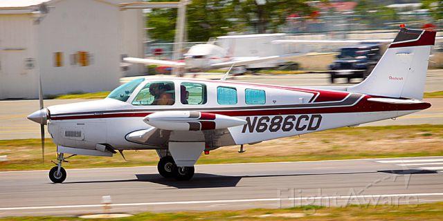 Beechcraft Bonanza (36) (N686CD)