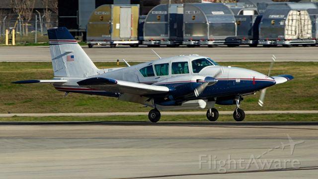 Piper Aztec (N622TB) - 22 arrival.
