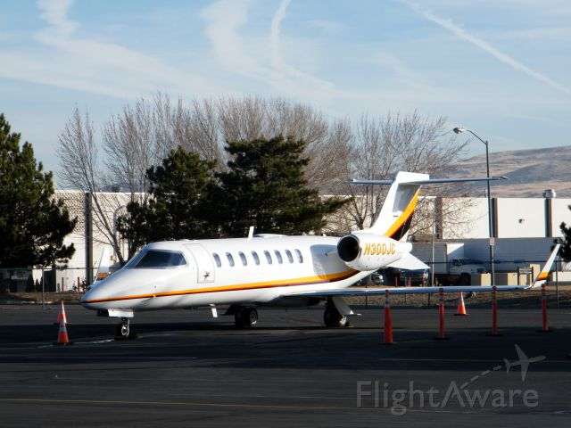 Bombardier Learjet 75 (N300JC) - lear jet parked at millionair at krno