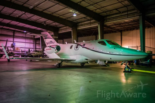 Honda HondaJet (N420HJ) - Following a morning test flight, the test and certification jet rests in a hangar at Albuquerque International Sunport. Please vote if you like my images! © Bo Ryan Photography   a rel=nofollow href=http://www.facebook.com/BoRyanPhotohttps://www.facebook.com/BoRyanPhoto/a