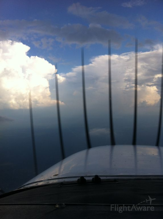 Cessna Skyhawk (N981SP) - Enroute to Alexandria, LA from North Louisiana.