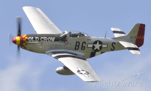 — — - Jack Rousch's Old Crow P51 @ Willow Run