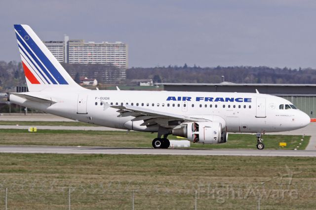 Airbus A318 (F-GUGR)