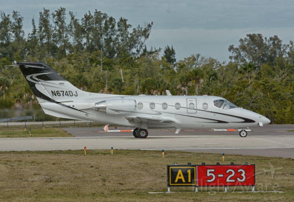 Beechcraft Beechjet (N674DJ)