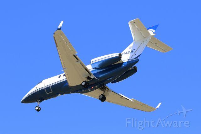 Raytheon Hawker 800 (N349JF)