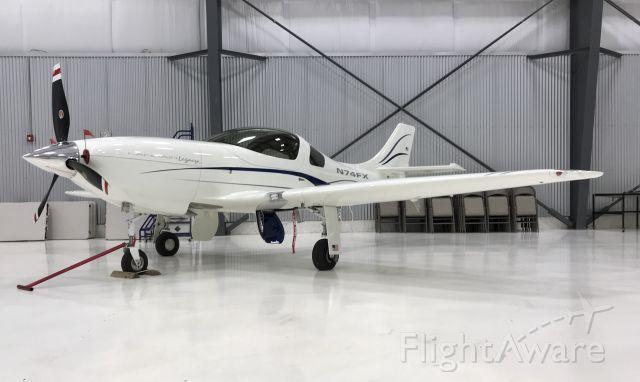 Lancair Legacy 2000 (N74FX)