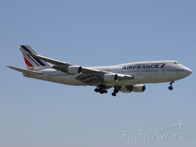 Boeing 747-400 (F-GITF)