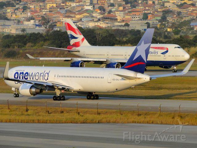 BOEING 767-300 (CC-CXJ)