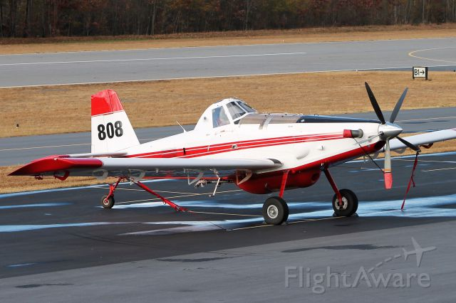 N335BS — - Tied down, too windy to fly today.