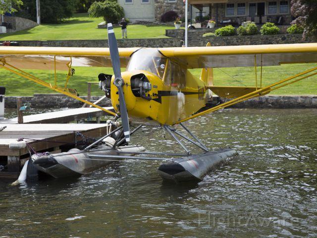 Piper NE Cub (N331JM) - On the Candlewood Lake