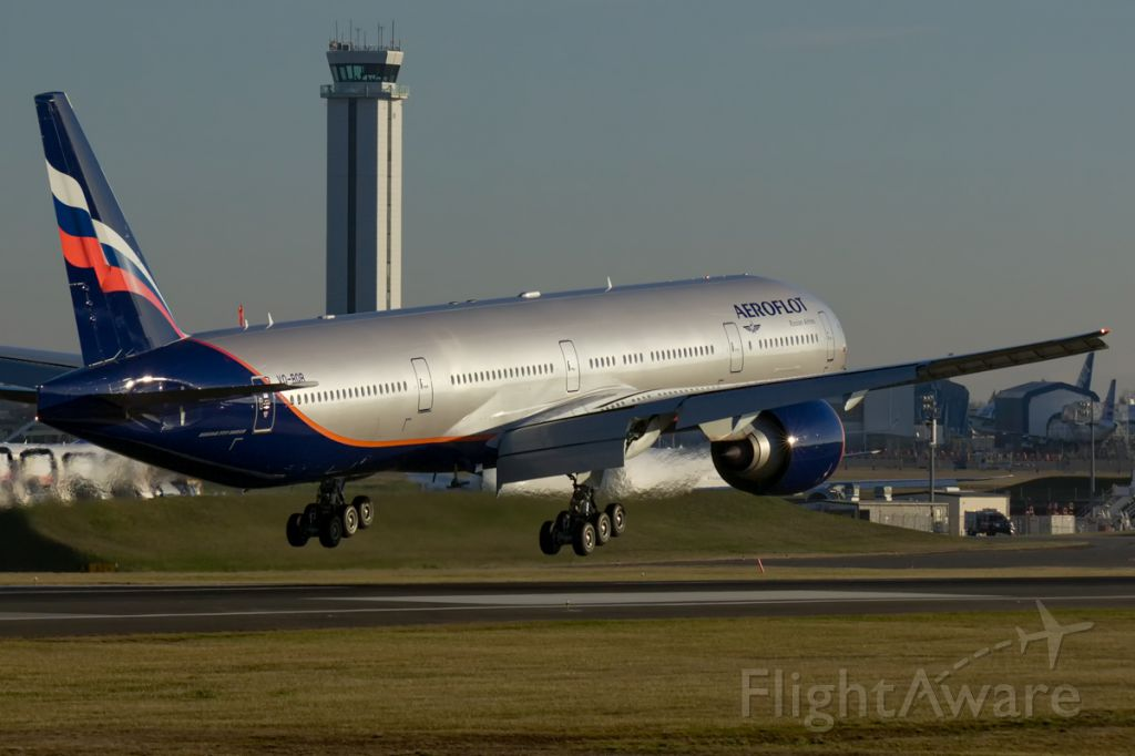 BOEING 777-300ER (VQ-BQB) - Aeroflot's newest flagship delivered!