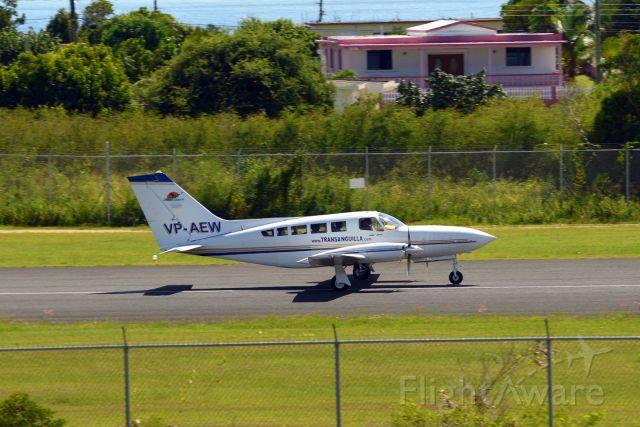 Cessna 402 (VP-AEW)