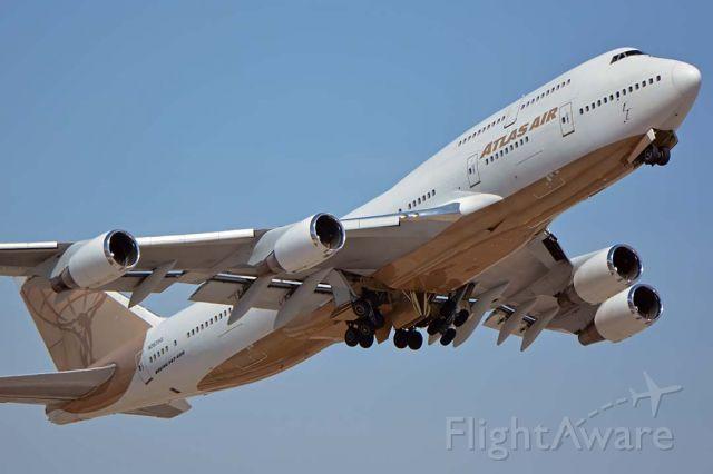 Boeing 747-400 (N263SG) - Atlas Air Boeing 747-481 N263SG at Phoenix Sky Harbor on August 29, 2018.