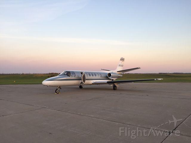 Cessna Citation V (N618VH) - Load up