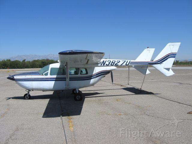 Cessna 336 Skymaster (N3827U) - At Corona Airport