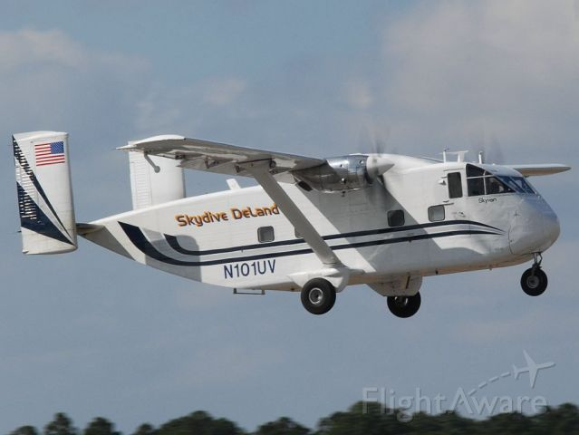 Short Skyvan (N101UV) - Skydive DeLand
