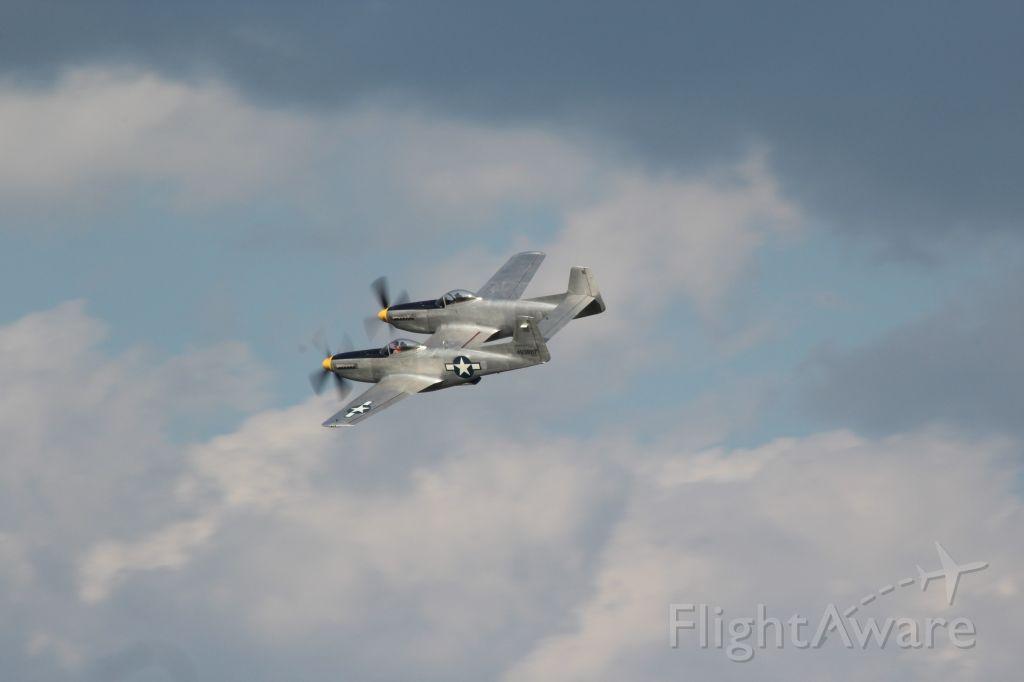 N887XP — - The XP-82 in flight at Oshkosh 2019